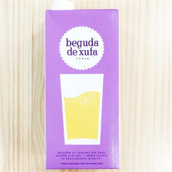 Bebida de Chufa ecológica Terra i Xufa sin azúcar ni edulcorantes