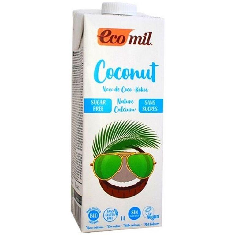 Bebida de Coco Calcio Bio 1L, 1 ud