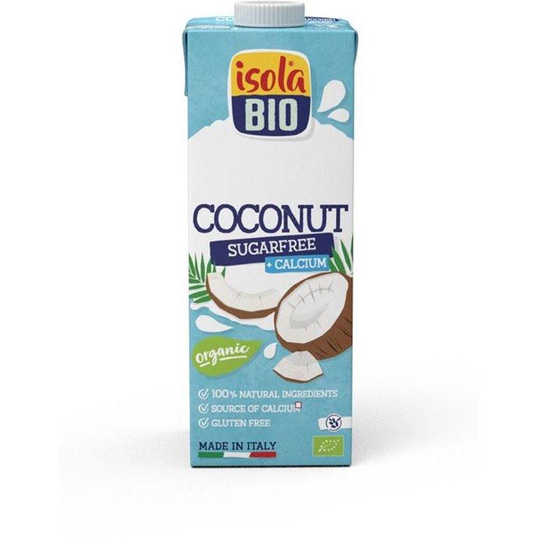 Bebida de Coco con Calcio (Sin Azúcar) Bio 6L (6 x 1L)