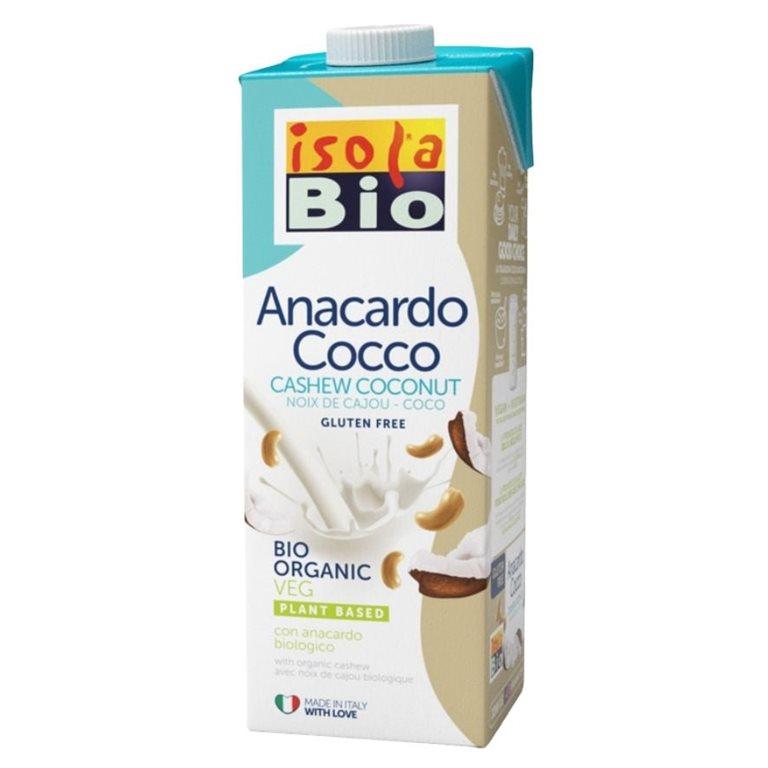 Bebida de Coco y Anacardo Bio 6 x 1L
