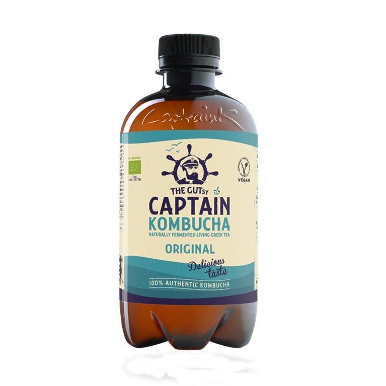 Bebida de Kombucha bio Original Captain Kombucha
