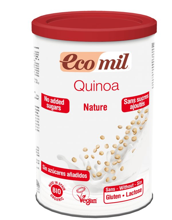 Bebida de quinoa polvo, 400 gr