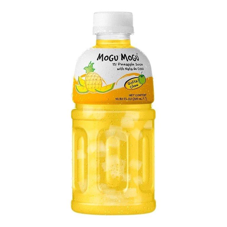 Bebida de sabores frutales | Mogu Mogu Pineapple Flavored Drink 320ml