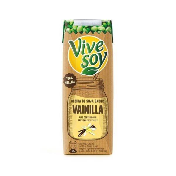 Bebida de soja con vainilla - Vivesoy