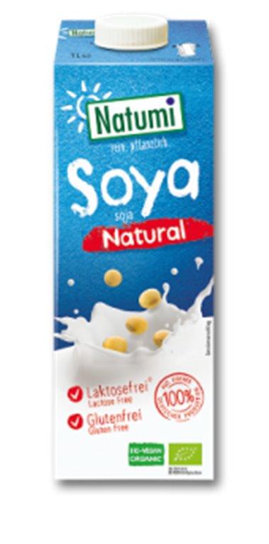 Bebida de soja natural, 1 ud