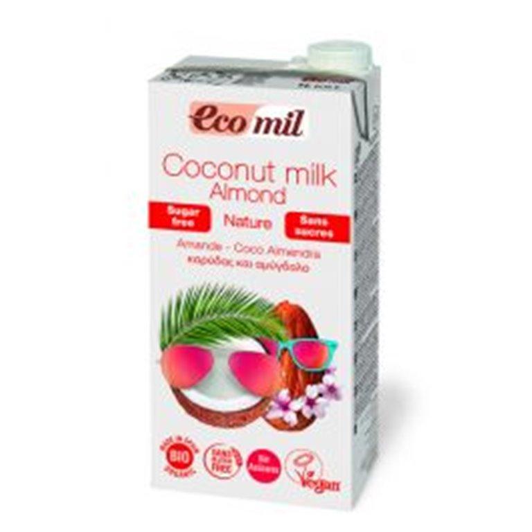 Bebida Ecológica de Coco Almendra Calcium 1 L. Ecomil, 1 ud