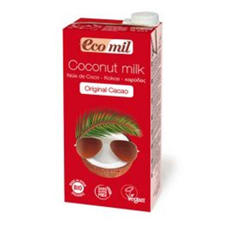 Bebida Ecológica de Coco Cacao 1 L. Ecomil, 1 ud