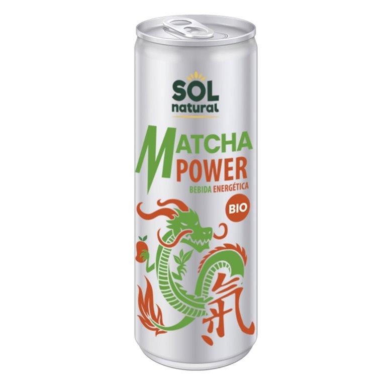 Bebida Energética Matcha Bio 250ml