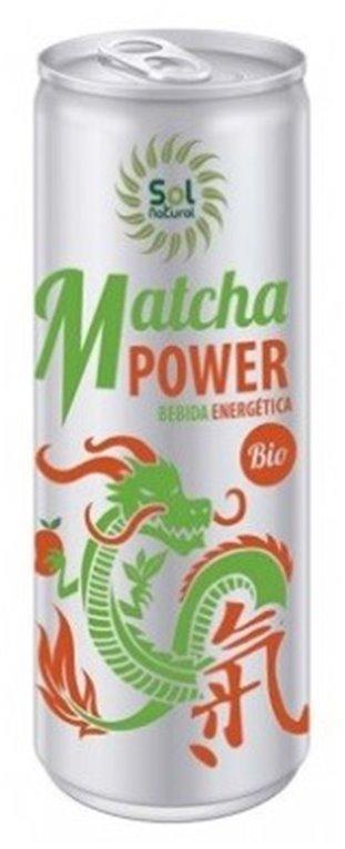 Bebida Energética Matcha Power Bio 250ml