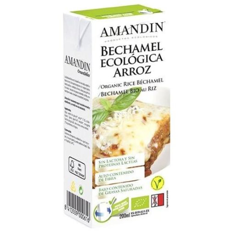 Bechamel de Arroz Bio 200ml