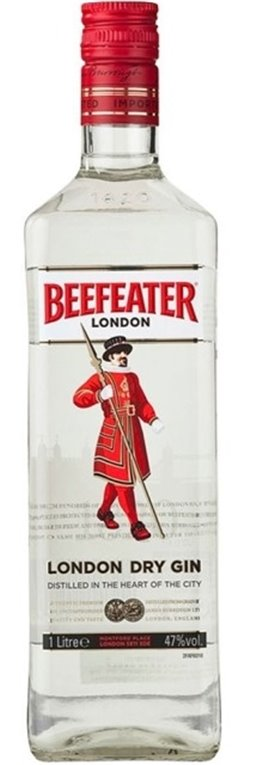 Beefeater Gin Litro, 1 ud