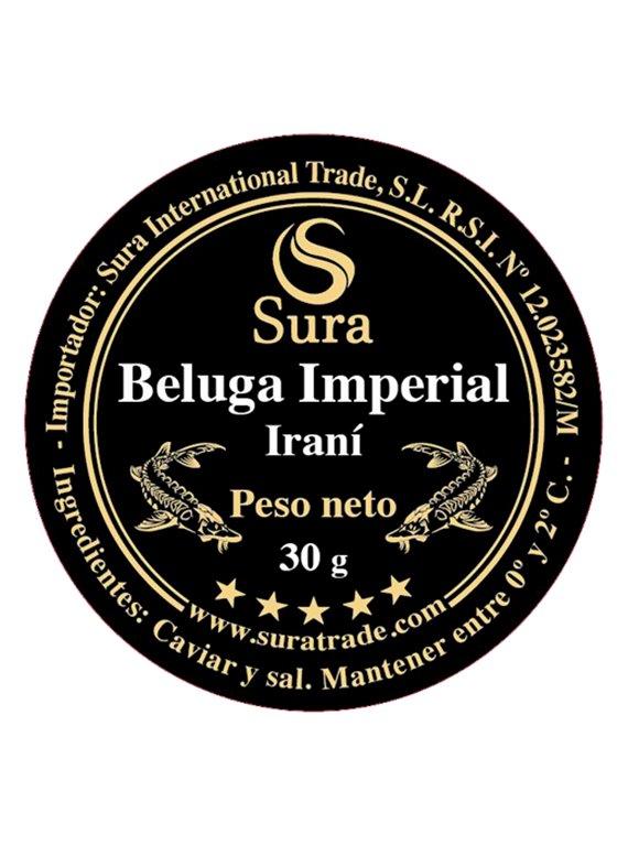 Beluga Imperial Iraní Sura Caviar
