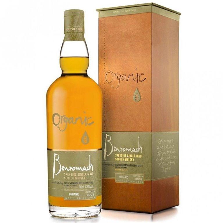 BENROMACH CONTRAST ORGANIC 0,70 L. + ESTUCHE