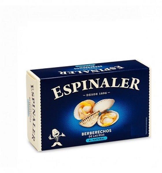 Berberechos 65/85 Piezas al Natural Espinaler