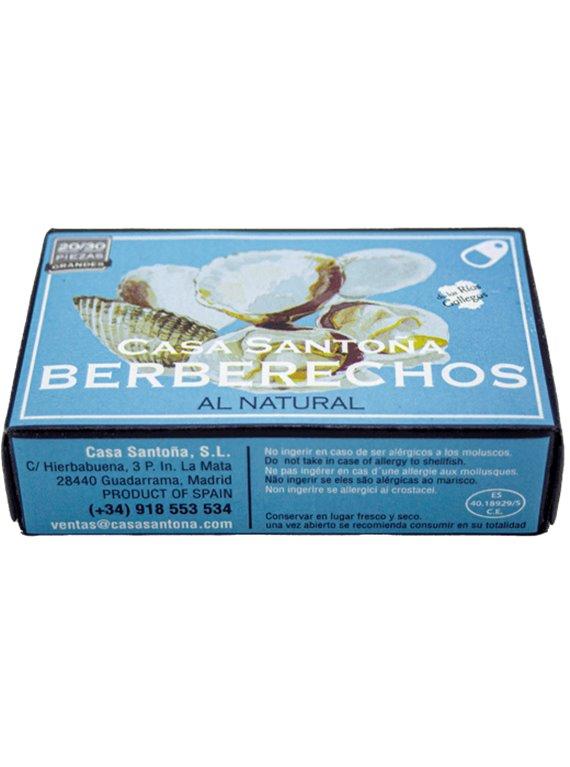 Berberechos al Natural 20/30, 1 ud