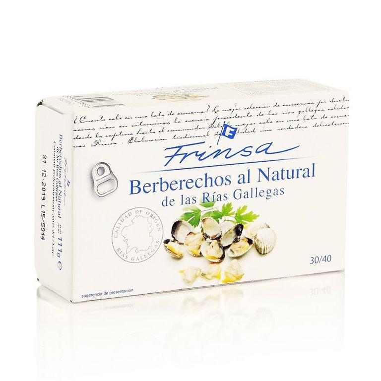 Berberechos al natural 30-40