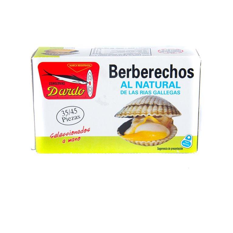 Berberechos al natural 35/45, 1 ud