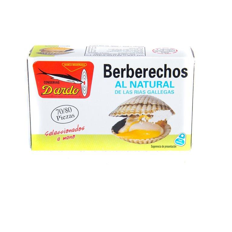 Berberechos al natural 70/80, 1 ud