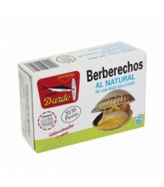 Berberechos al natural de Rias Gallegas OL-120, 20/30u. Dardo. 25un.