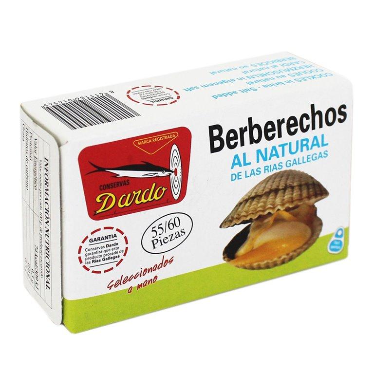Berberechos al natural de Rias Gallegas OL-120, 30/35u. Dardo. 25un., 1 ud