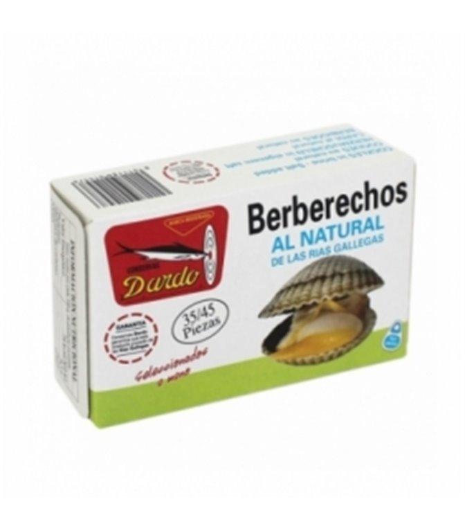Berberechos al natural de Rias Gallegas OL-120, 35/45u. Dardo. 25un.