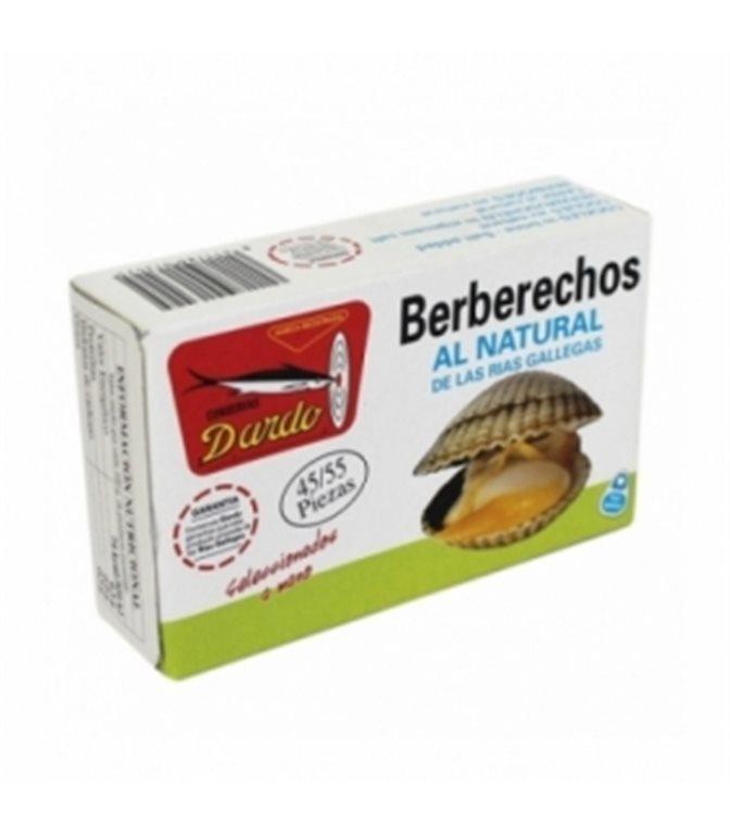Berberechos al natural de Rias Gallegas OL-120, 45/55u. Dardo. 25un.