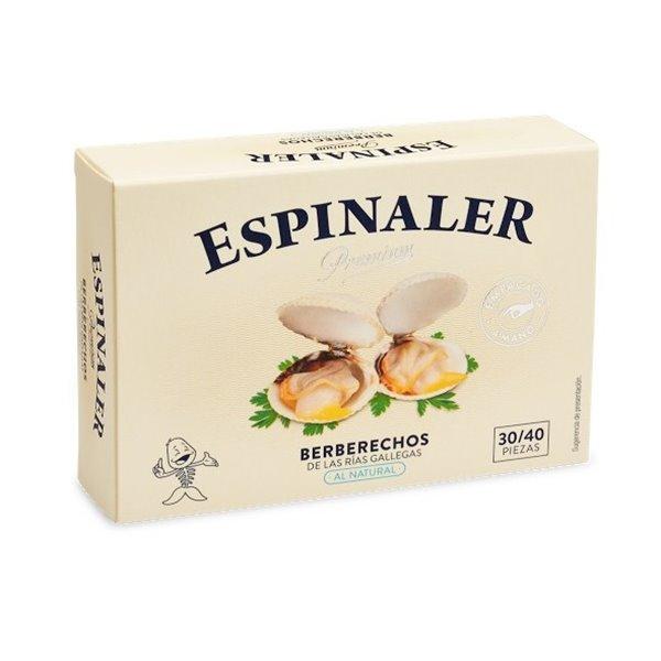 Berberechos Empacados a Mano Rías Gallegas 30/35 P. Espinaler