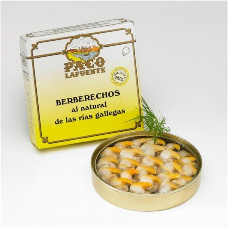 Berberechos Gigantes al Natural Paco Lafuente 20/25 Piezas, 1 ud