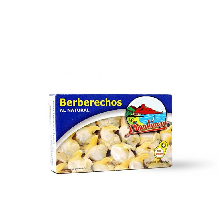 Berberechos Pequeños al Natural Montemar, 1 ud
