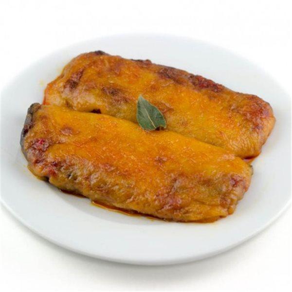 Berenjenas Gratinadas al Parmesano.