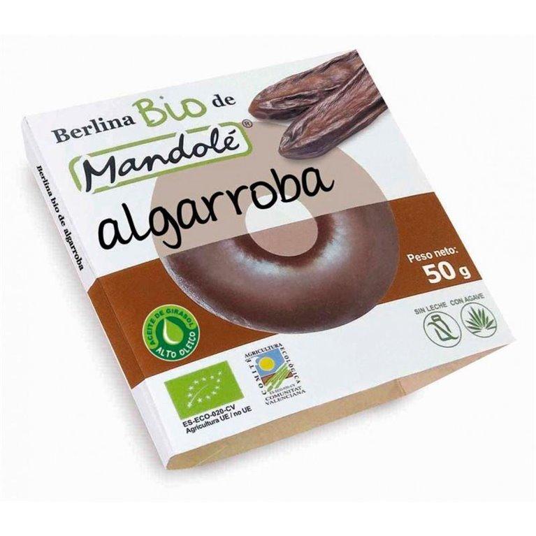 Berlina de Algarroba Sin Gluten Bio 50g