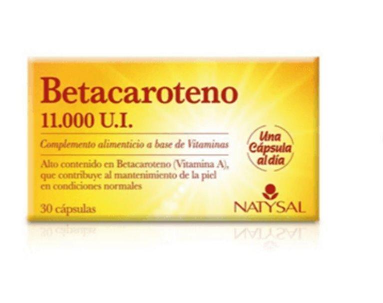 Betacaroteno, 50 gr