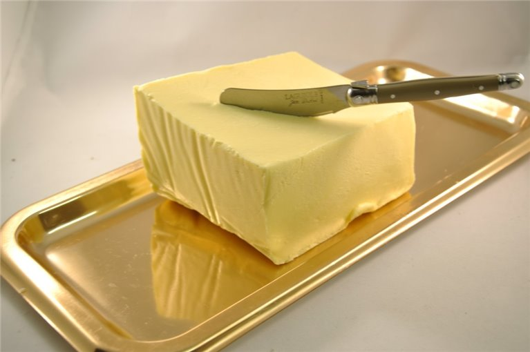 Semi-salted Normandy butter