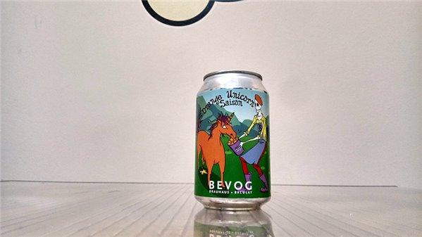 Bevog Who Cares Editions: Orange Unicorn