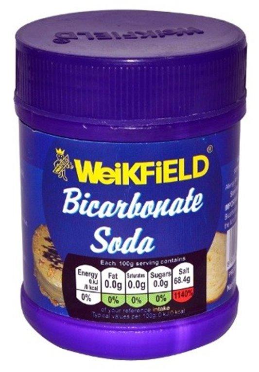 Bicarbonato de Sodio 100g, 1 ud