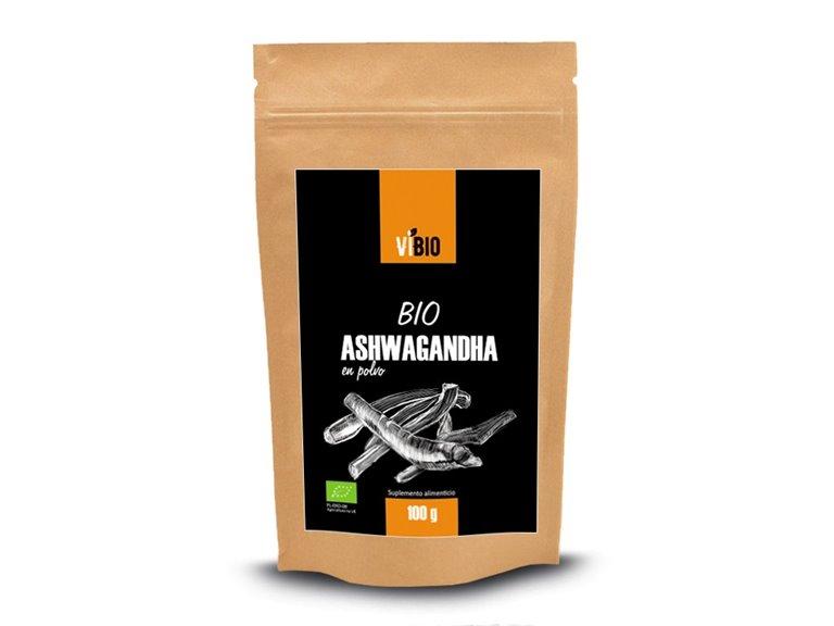 BIO Ashwagandha en polvo 100g, 1 ud