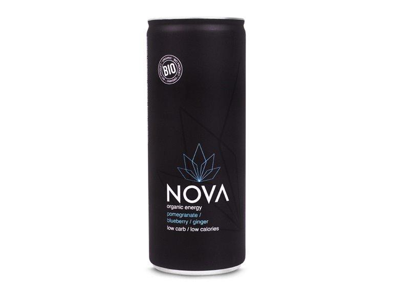BIO Bebida energética con granada 250ml