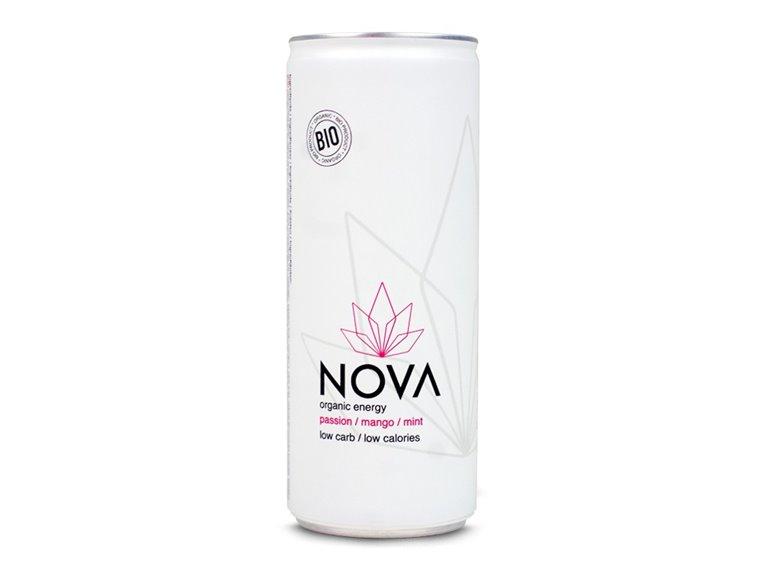 BIO Bebida energética con maracuyá 250ml