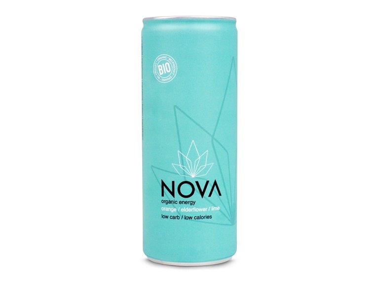 BIO Bebida energética con naranja 250ml