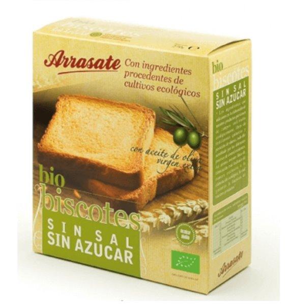 Bio Biscotes sin sal
