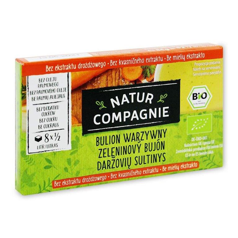 BIO Caldo vegetal 84g (8 cubitos)