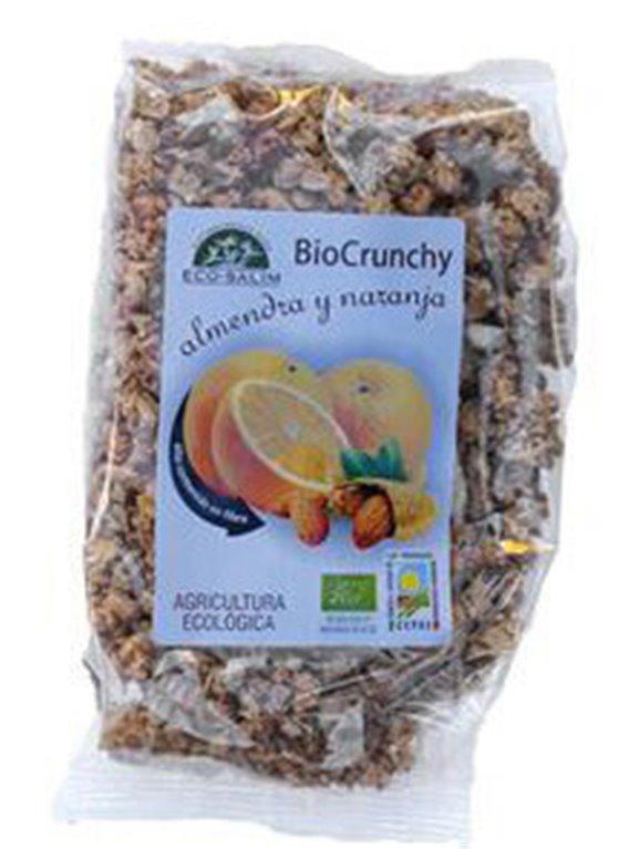 Bio Crunchy almendra y naranja, 250 gr