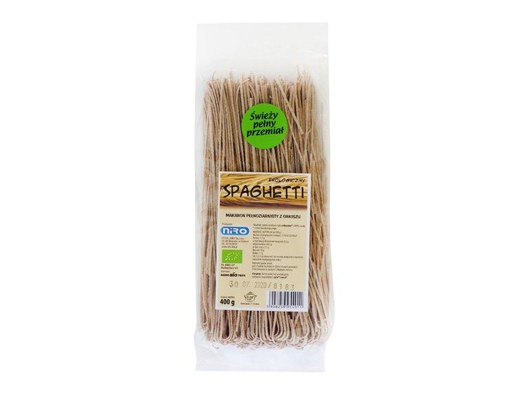 BIO Espaguetis de espelta integral 400g