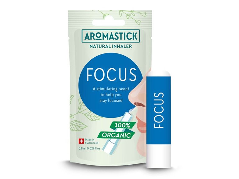 BIO Inhalador natural - FOCUS (Aromaterapia)