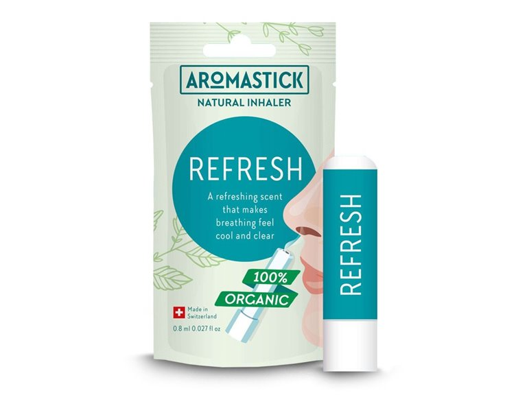 BIO Inhalador natural - REFRESH (Aromaterapia)
