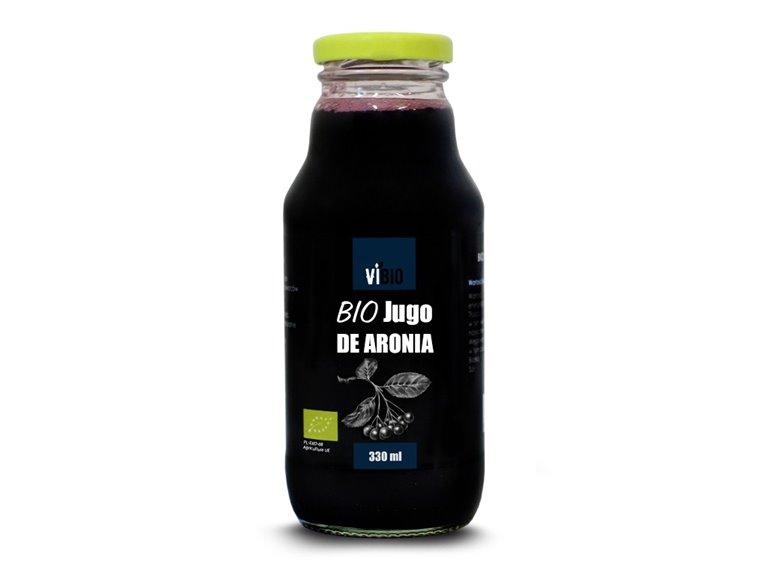 BIO Jugo de aronia 330ml, 1 ud