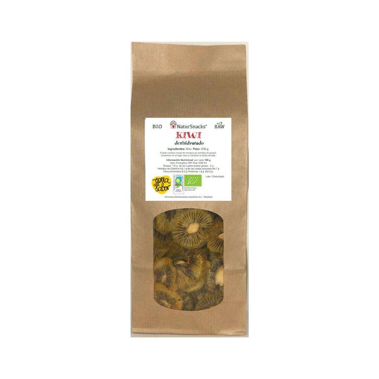 ORGANIC Dried kiwi fruit/ Family format