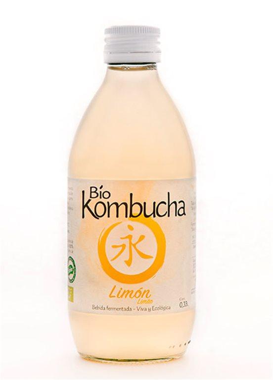 Bio Kombucha Limón 0,33L vidrio