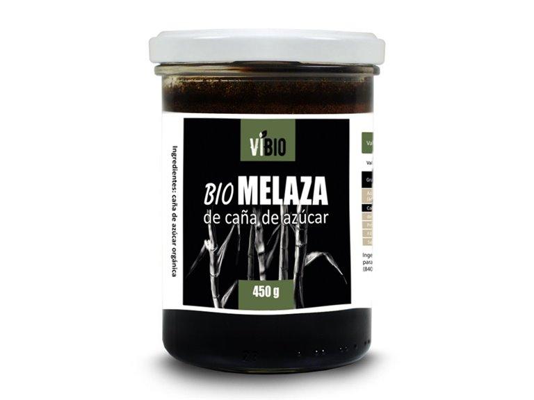BIO MELAZA DE CAÑA DE AZÚCAR 450G