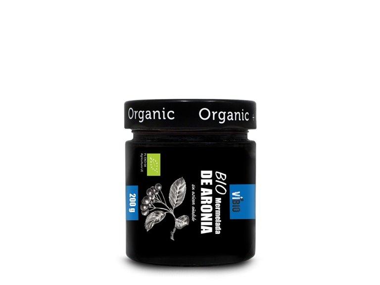 BIO Mermelada de aronia (sin azúcar añadido) 200g, 1 ud